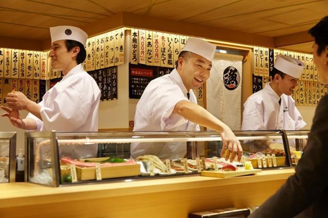 立食い寿司 魚がし日本一 五反田店の画像・写真